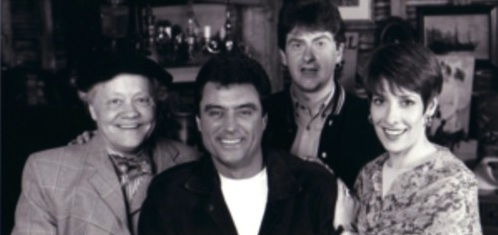 Dudley Sutton, Ian McShane, Chris Jury and Pyllis Logan
