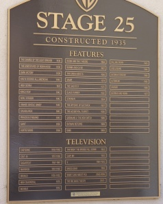 Warner Bros stage 25